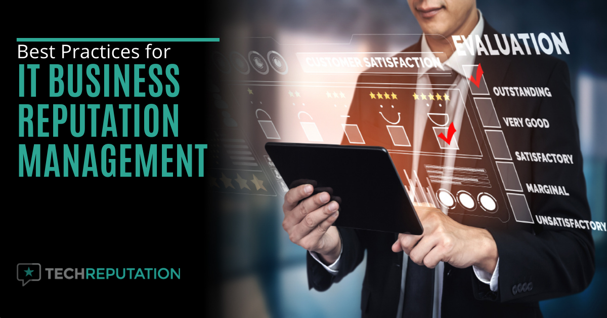 Best Practices for IT Business Reputation Management