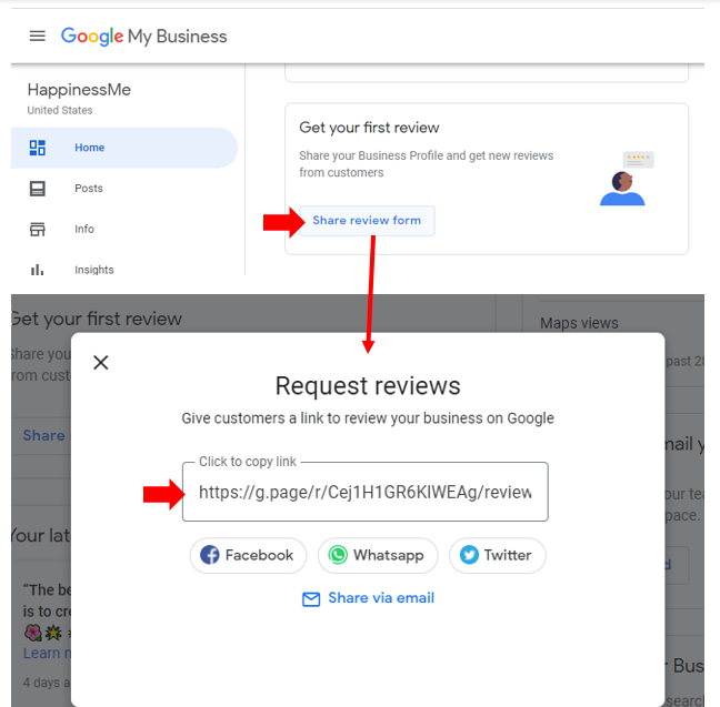 How to Get a Review Link for Google My Business