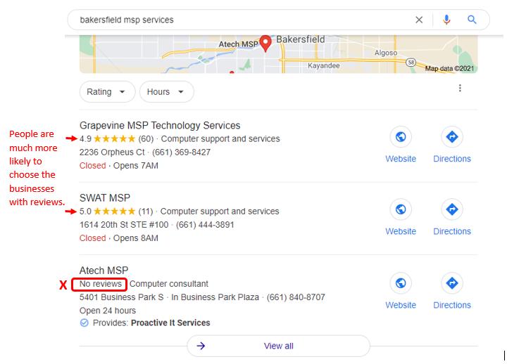 MSP SEO and Reputation Management